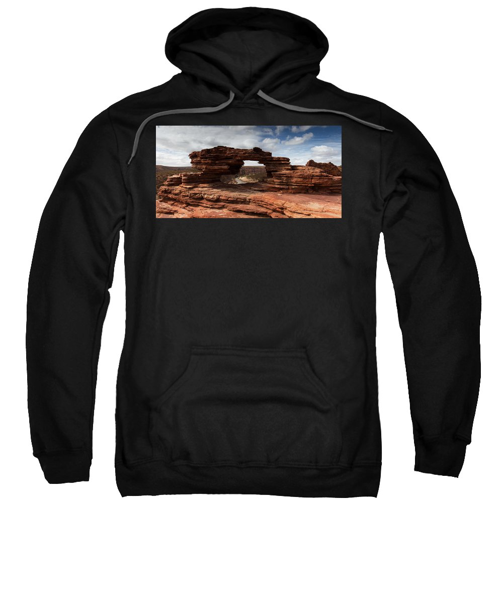 Natures Window Sweatshirt featuring the photograph Natures Window by Robert Caddy