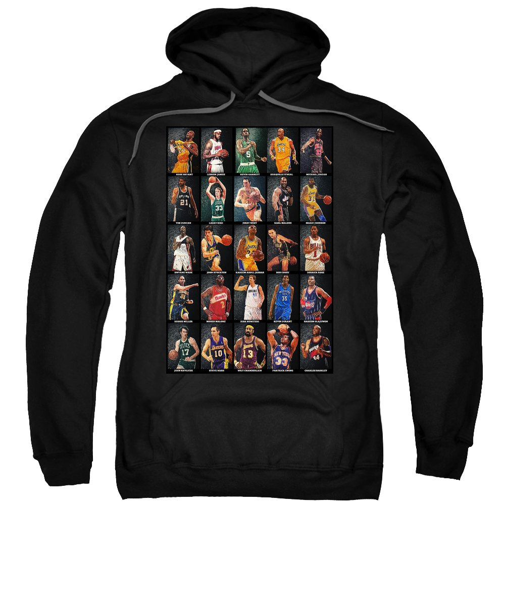 Magic Johnson Hooded Sweatshirts T-Shirts