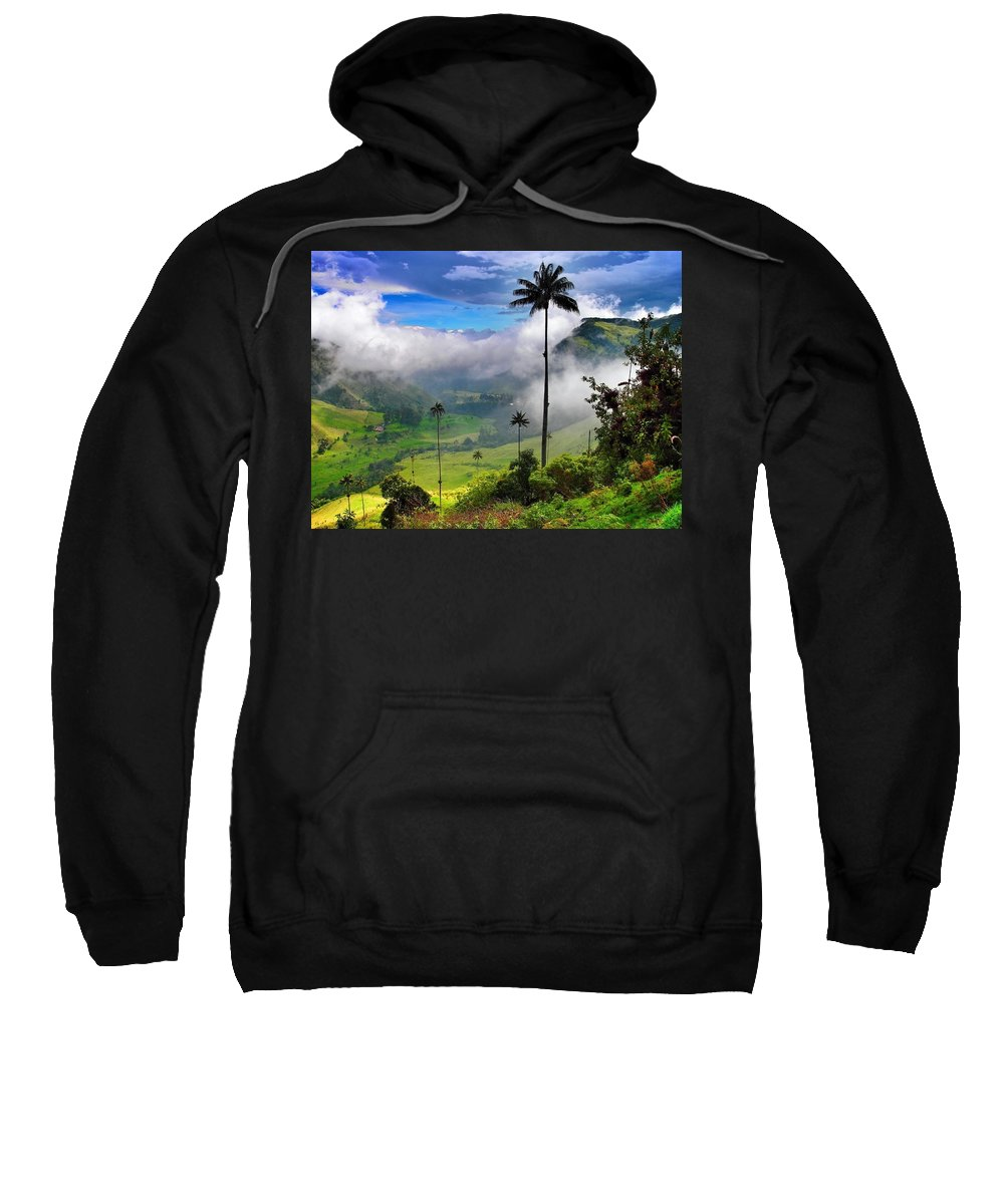 Nephilim Sweatshirt featuring the photograph Nephilim by Skip Hunt