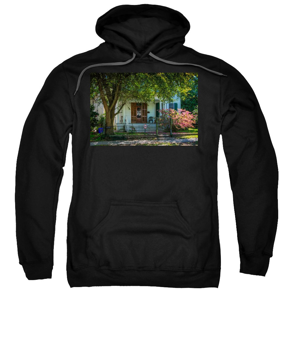 Home Sweatshirt featuring the photograph New Orleans Home 8 by Steve Harrington