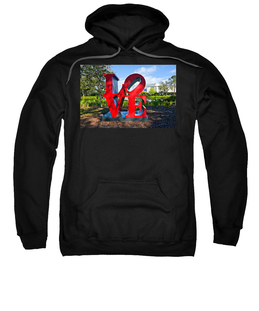 New Orleans Sweatshirt featuring the photograph New Orleans Love by Steve Harrington