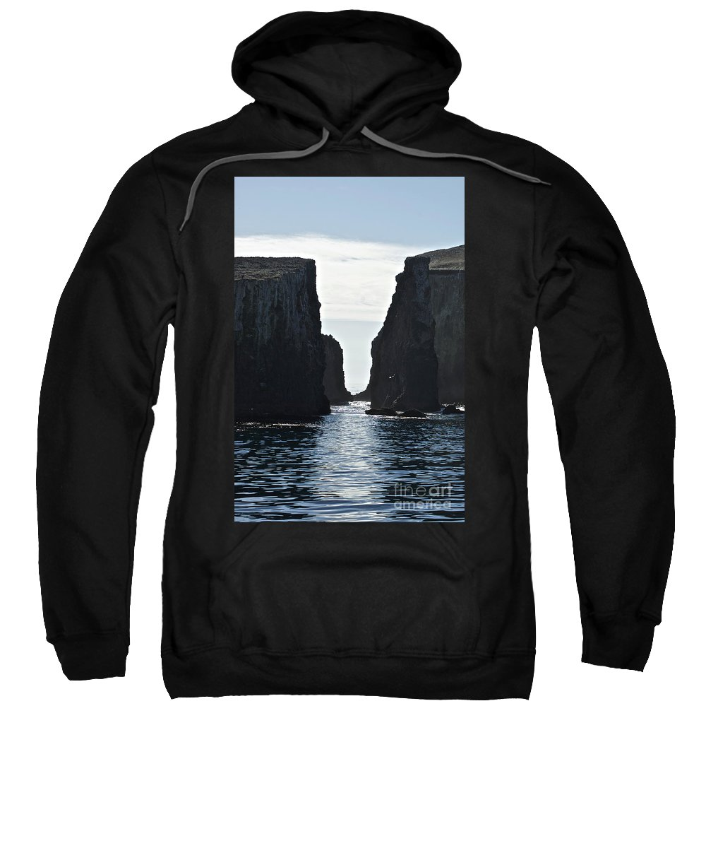 Channel Islands Sweatshirt featuring the photograph New Photographic Art Print For Sale Californian Channel Islands And Pacific Ocean by Toula Mavridou-Messer