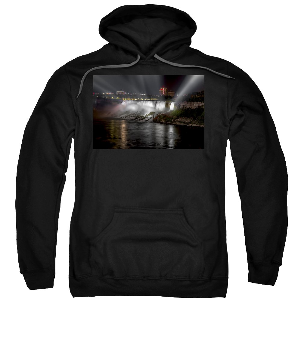 Niagara Falls Sweatshirt featuring the photograph Niagra Falls by Eduard Moldoveanu
