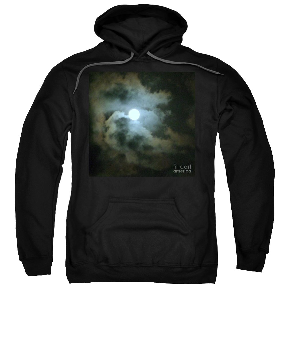 Moon Sweatshirt featuring the photograph Night Of The Moon by Mary Deal