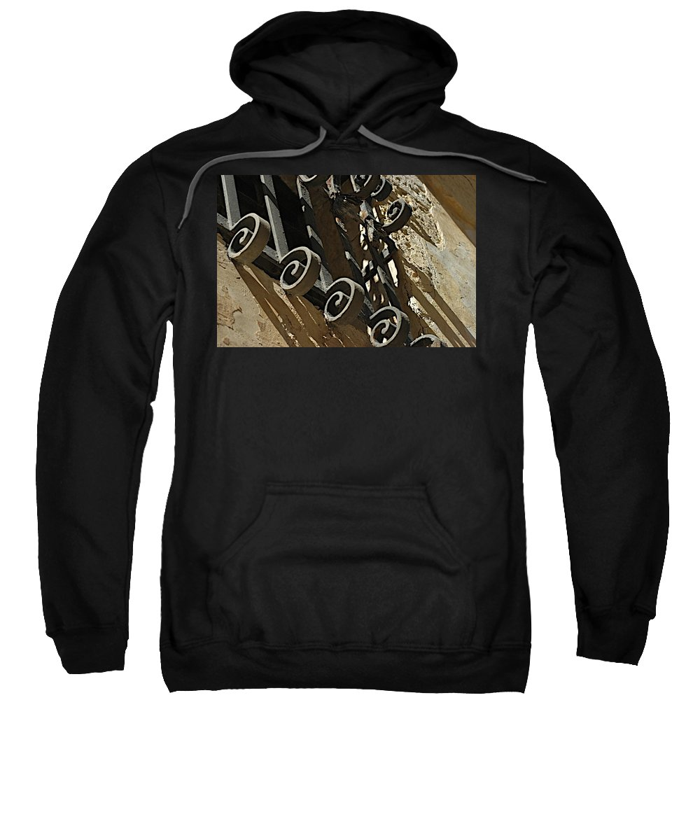 Castles Sweatshirt featuring the photograph No Way Out by Joseph Yarbrough