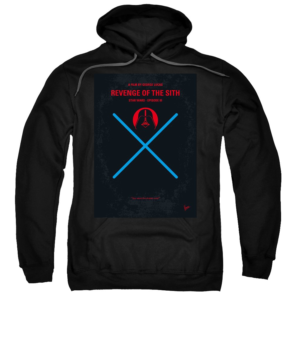 No225 My Star Wars Episode Iii Revenge Of The Sith Minimal Movie Poster Adult Pull Over Hoodie For Sale By Chungkong Art