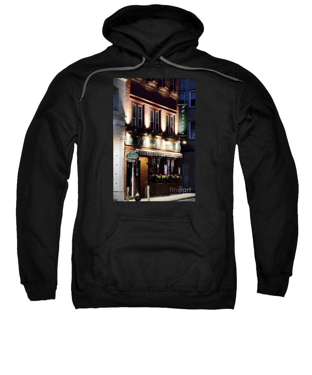North End Sweatshirt featuring the photograph North End Charm by Lisa Kilby