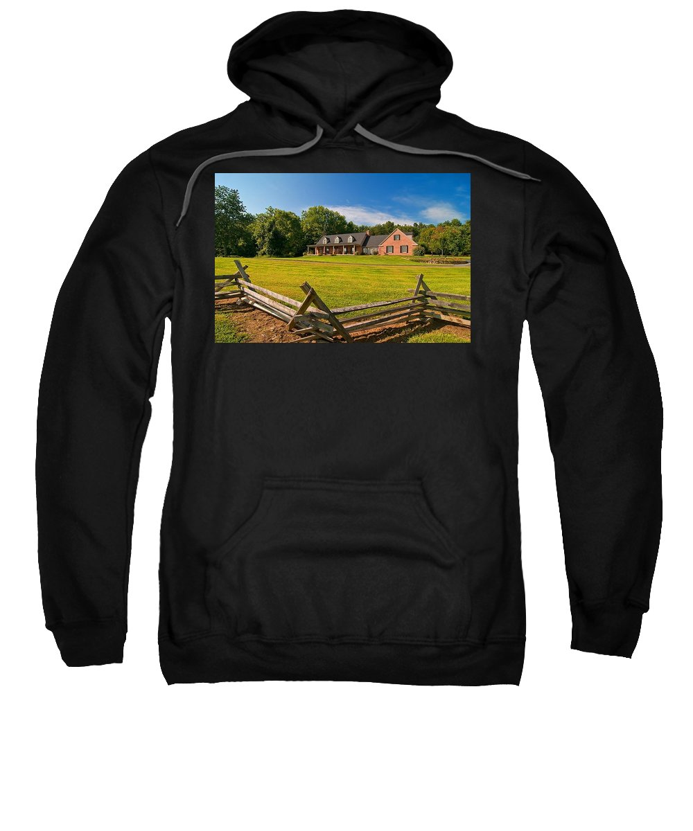 Sweatshirt featuring the photograph Number Three by Randall Branham