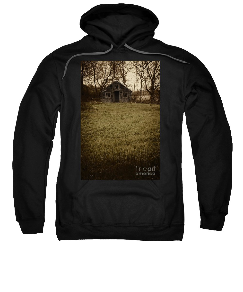 Old Sweatshirt featuring the photograph Old Shed by Margie Hurwich