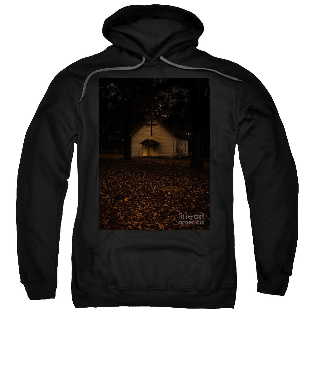 Christian Sweatshirt featuring the photograph That Old Time Religion by Robert Frederick