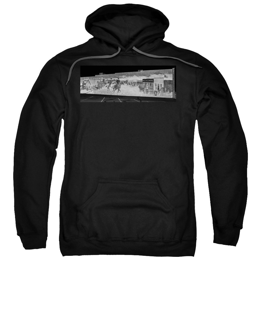 Route 66 Sweatshirt featuring the photograph Olde Town by Angus Hooper Iii