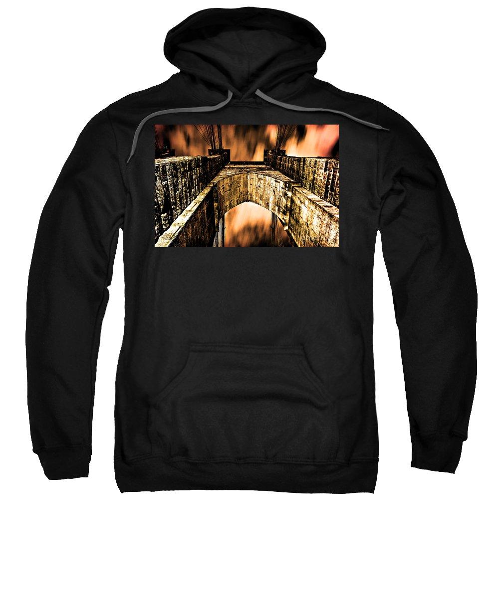 Streets Of Nyc Sweatshirt featuring the photograph Brooklyn by Digital Kulprits