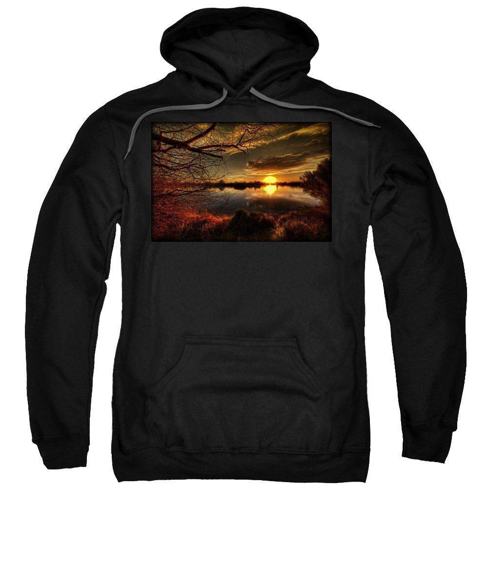 Arizona Sweatshirt featuring the photograph On The Horizon by Saija Lehtonen