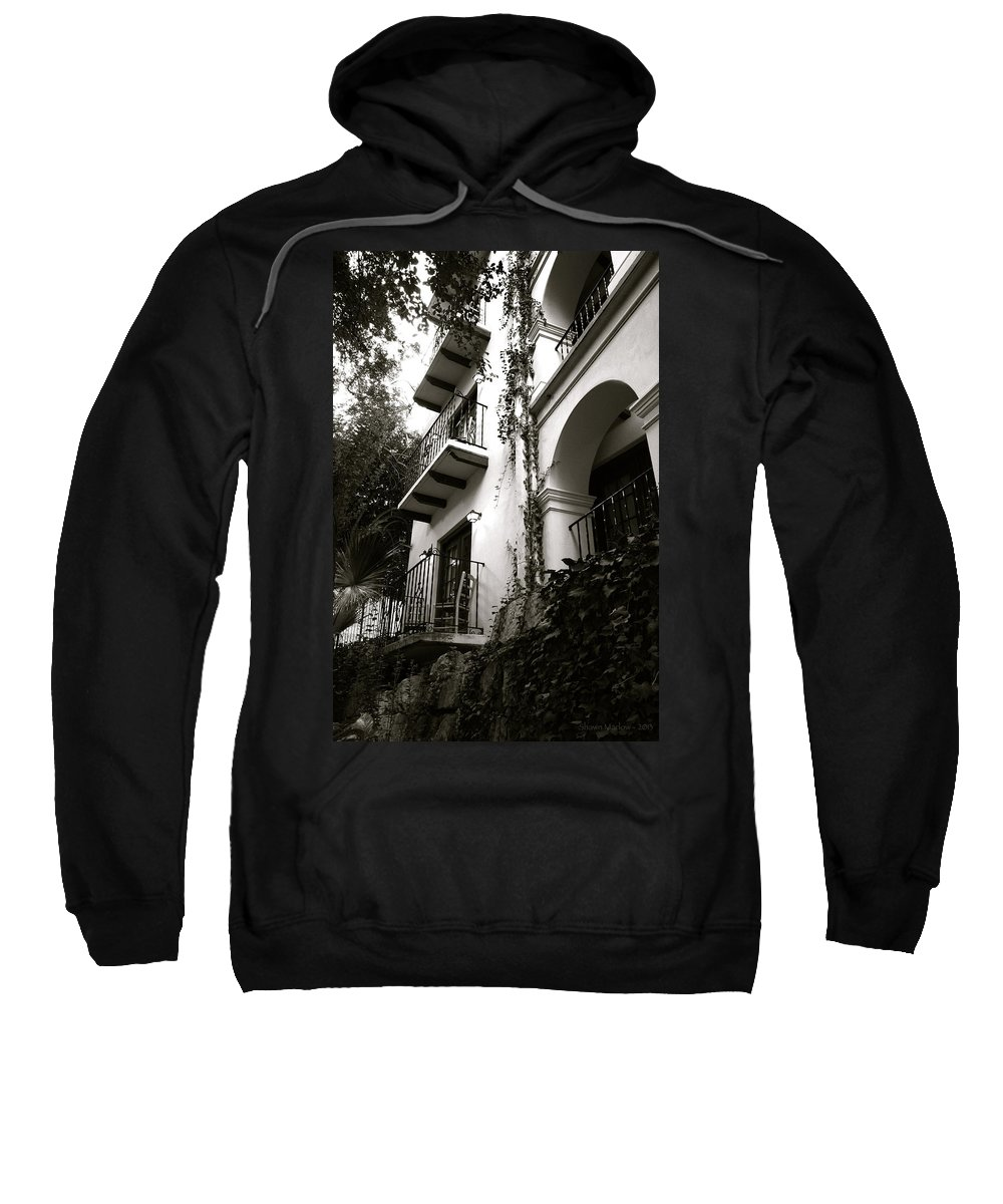 Architecture Sweatshirt featuring the photograph On The River by Shawn Marlow
