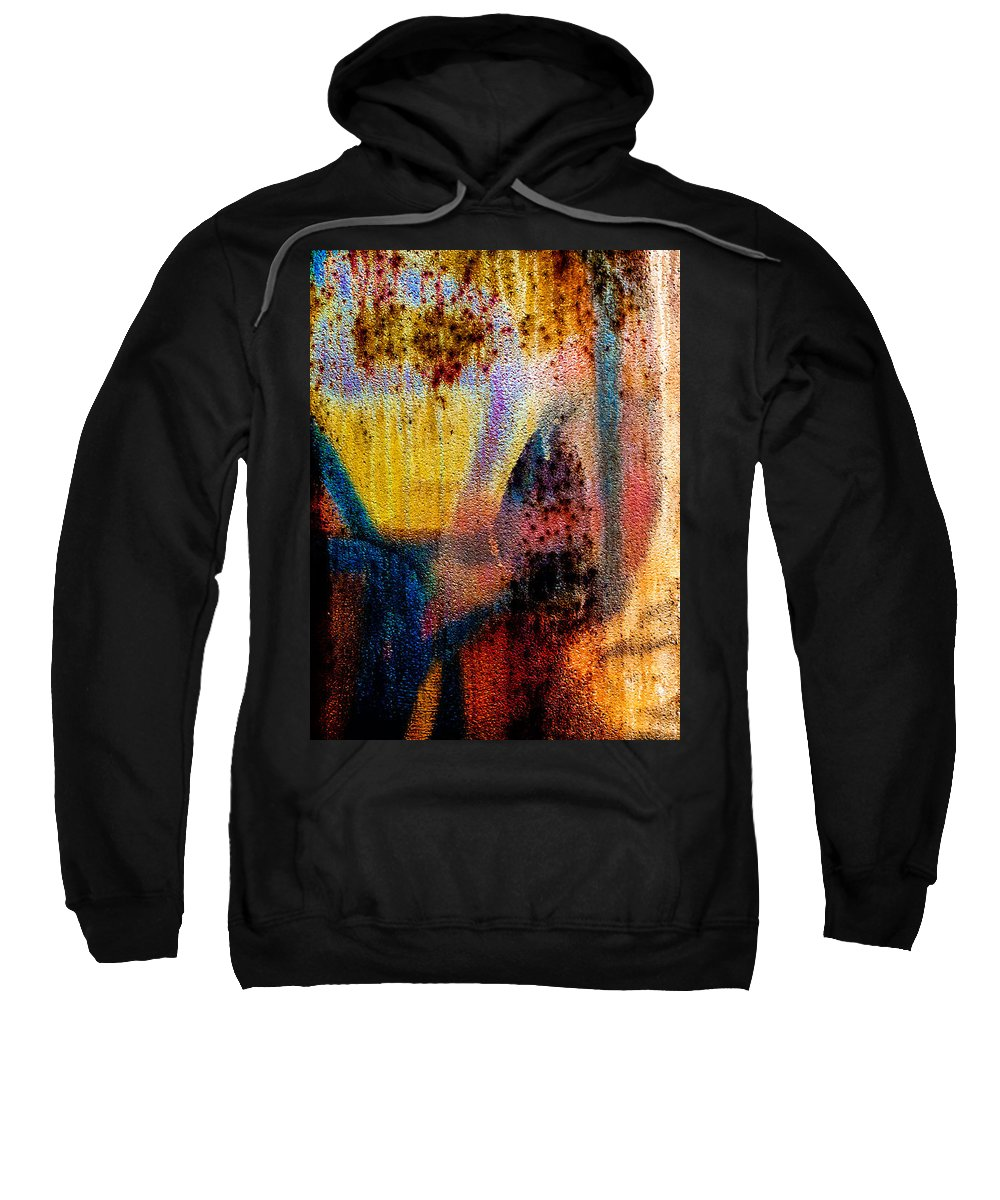 Abstract Sweatshirt featuring the photograph One Half by Bob Orsillo