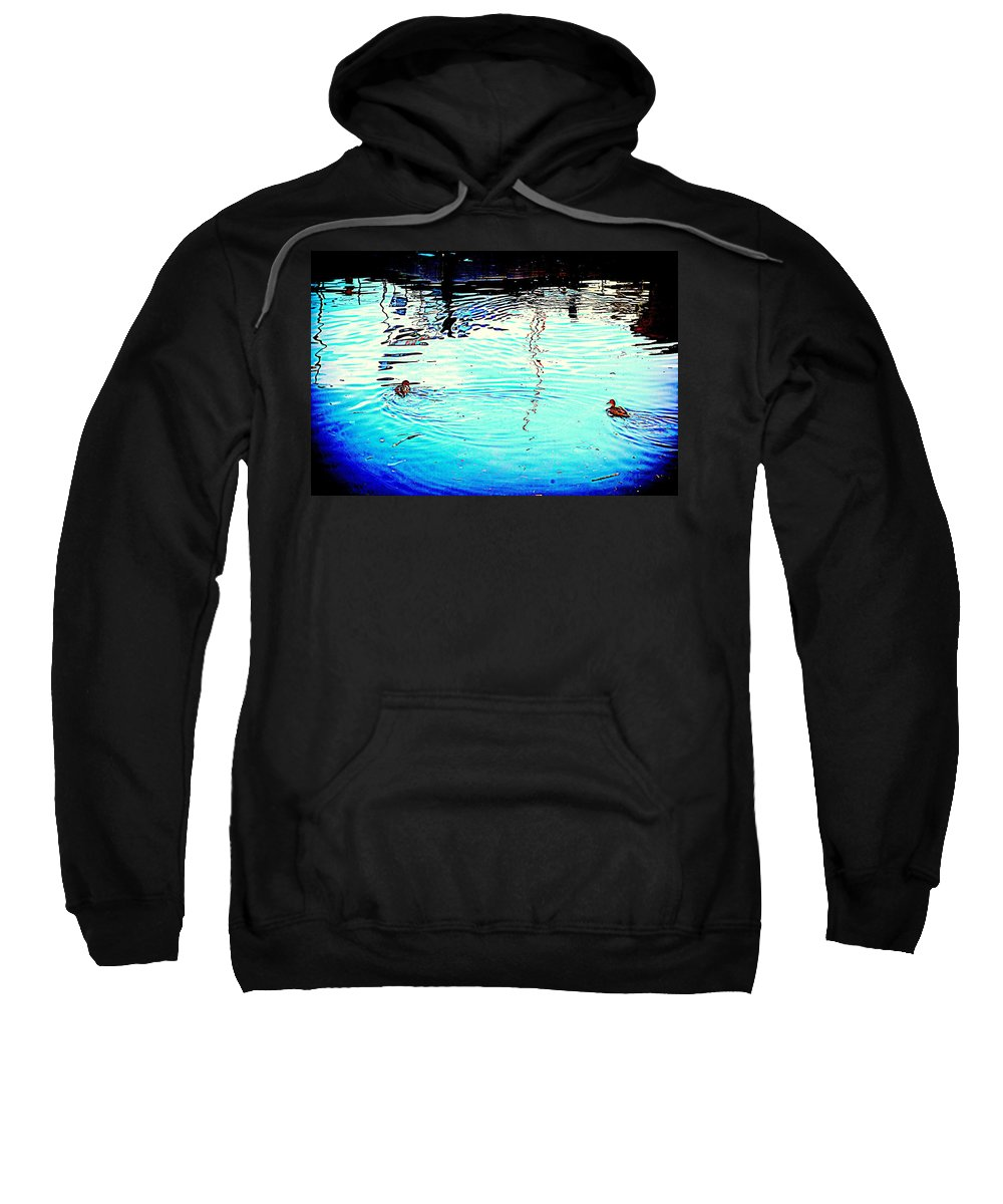 Bird Sweatshirt featuring the photograph Our Life In The Middle Of Our Sea by Hilde Widerberg