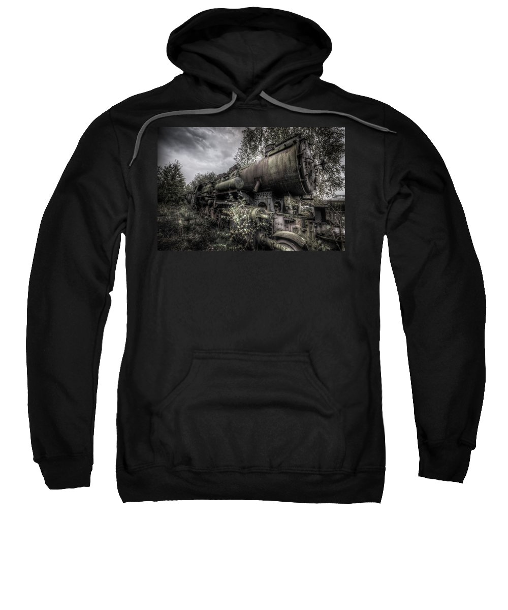 Germany Sweatshirt featuring the digital art Out Of Steam by Nathan Wright
