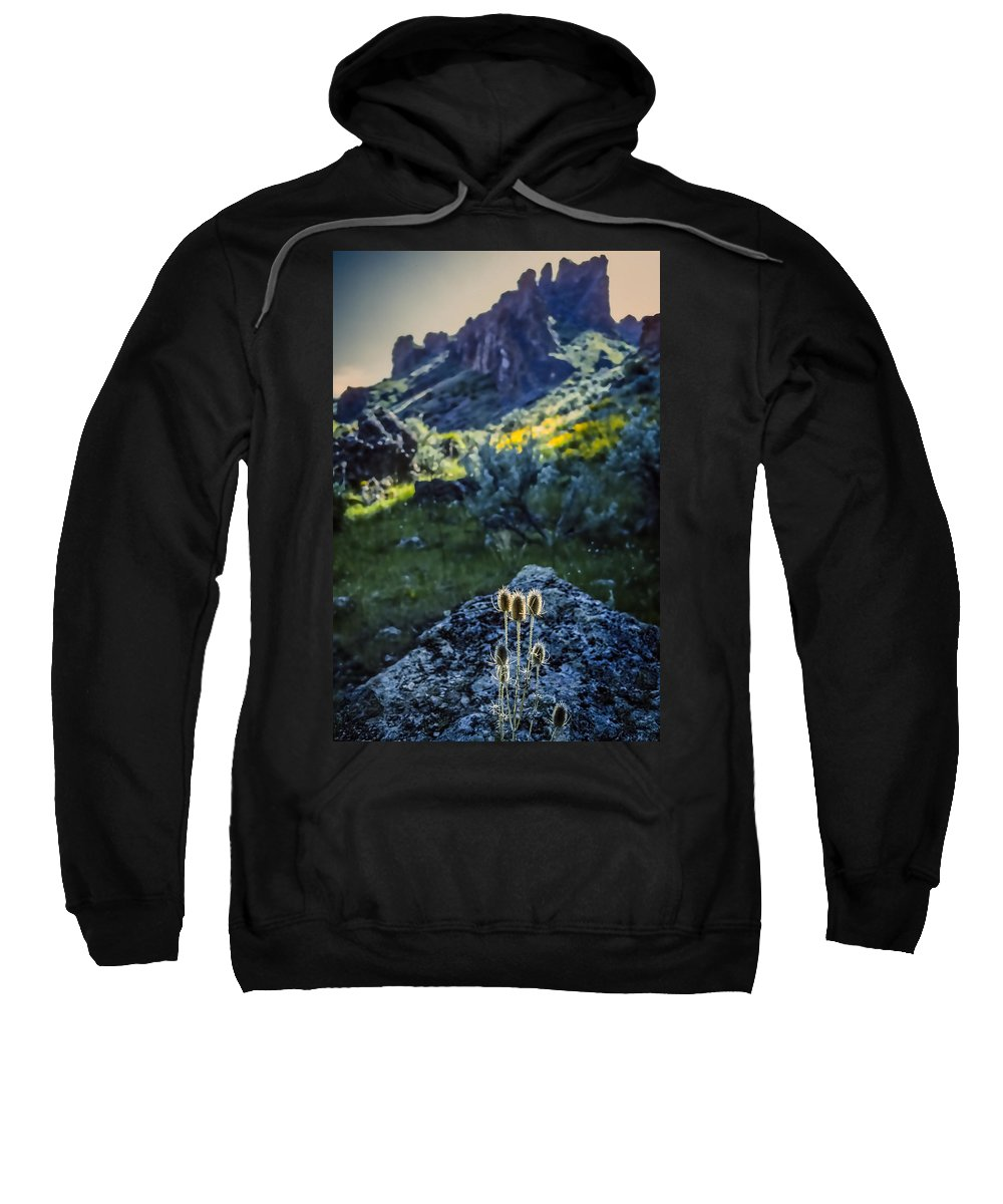 Owyhee River Sweatshirt featuring the photograph Owyhee River 1 by Mike Penney