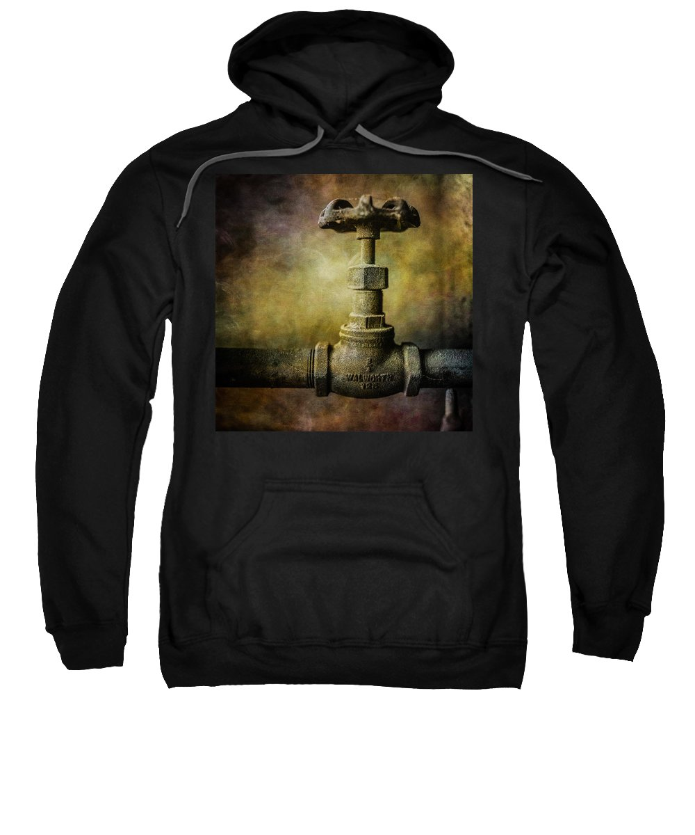 Abandoned Sweatshirt featuring the photograph Pacific Airmotive Corp 24 by YoPedro