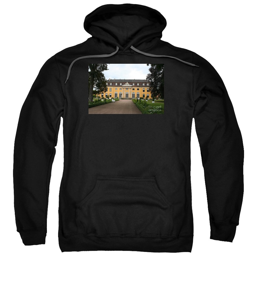 Palace Sweatshirt featuring the photograph Palace Mosigkau - Germany by Christiane Schulze Art And Photography