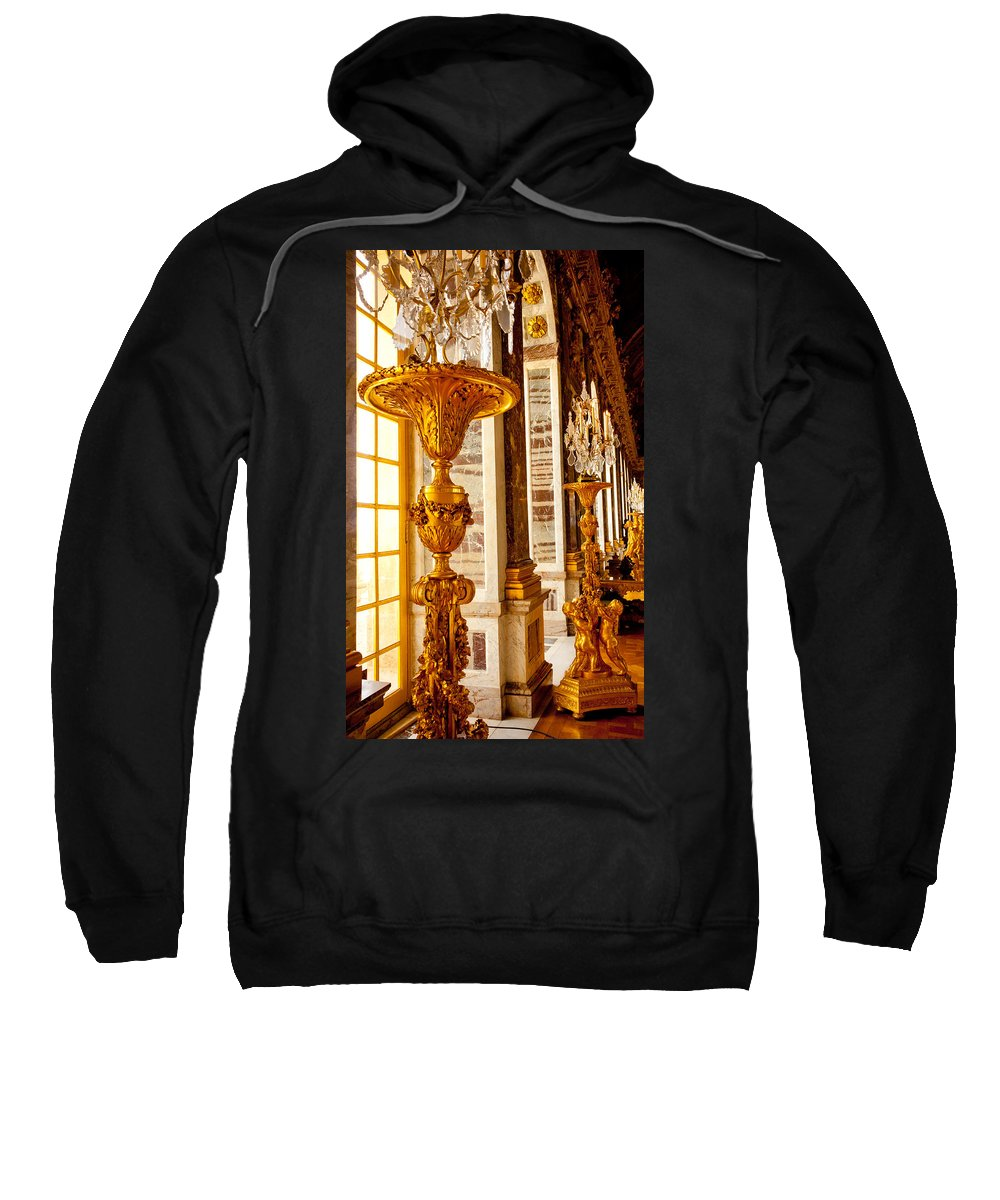 Paris Sweatshirt featuring the photograph Palace Of Versailles by Anthony Doudt