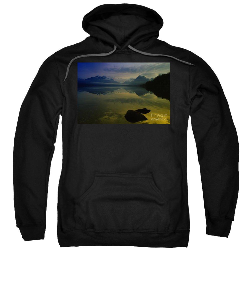 Sunrise Sweatshirt featuring the photograph Paradise Happens by Jeff Swan