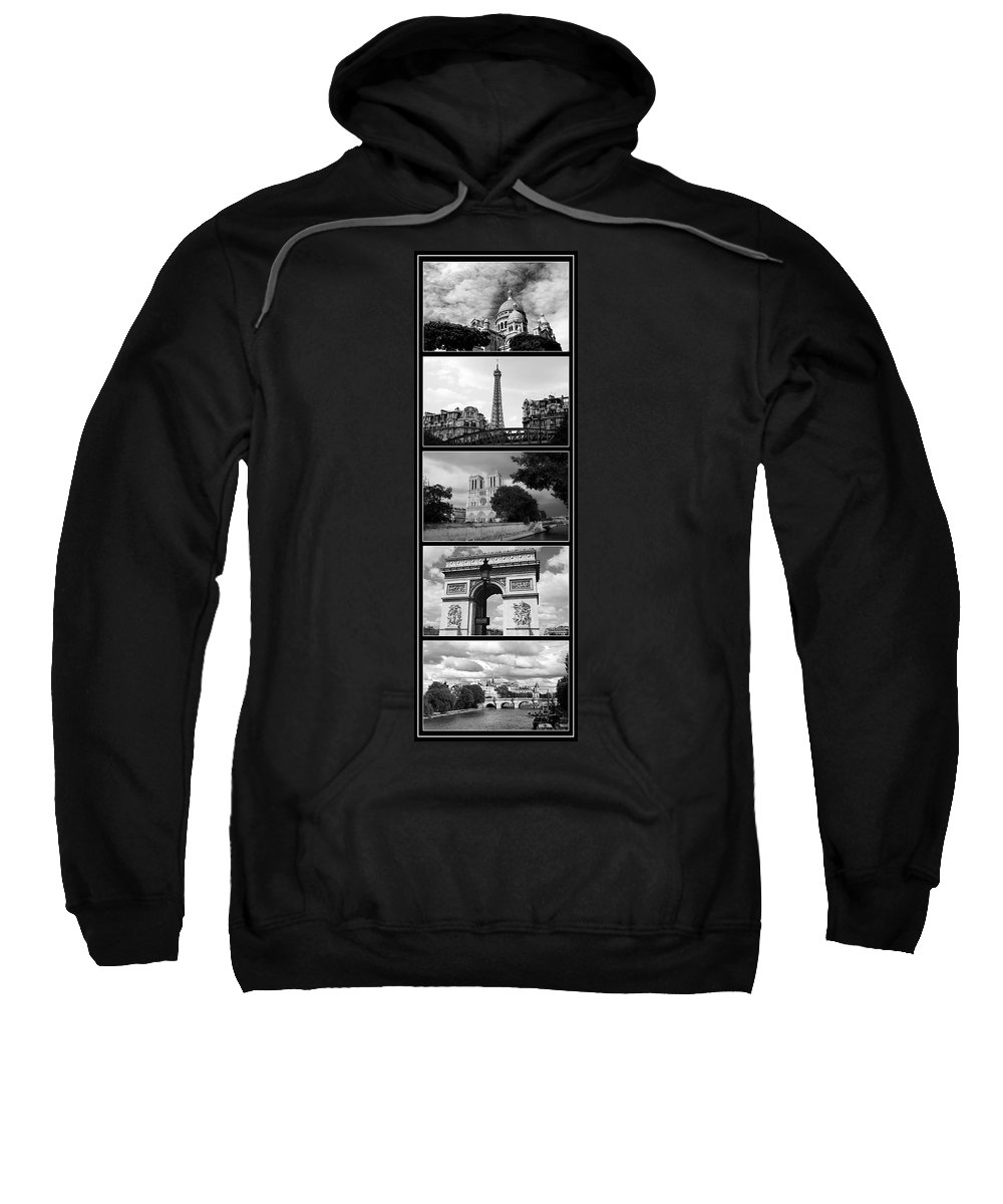 Paris Sweatshirt featuring the photograph Paris Views 1 by Andrew Fare