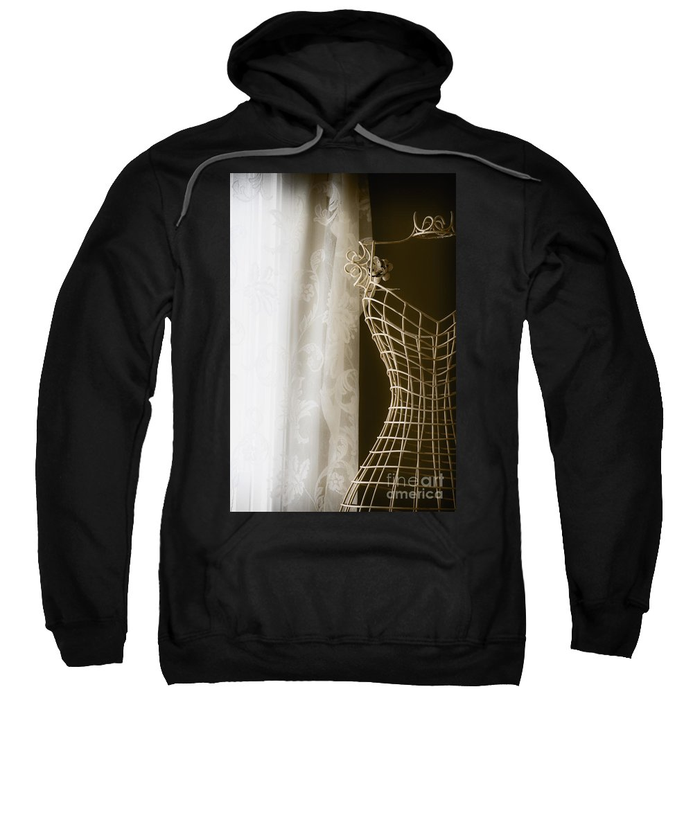 Antique Sweatshirt featuring the photograph Parlor by Margie Hurwich