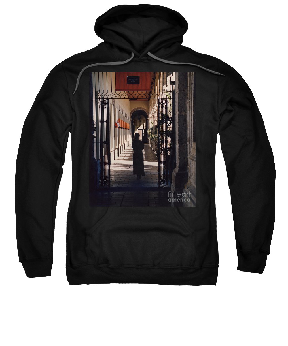 Mexico Sweatshirt featuring the photograph Passages By Tdr by First Star Art