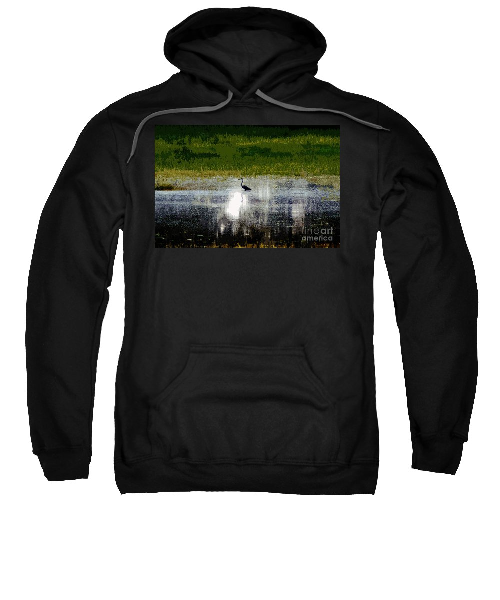 Patches Pretty Sweatshirt featuring the photograph Patches Of Pretty by Kim Pate