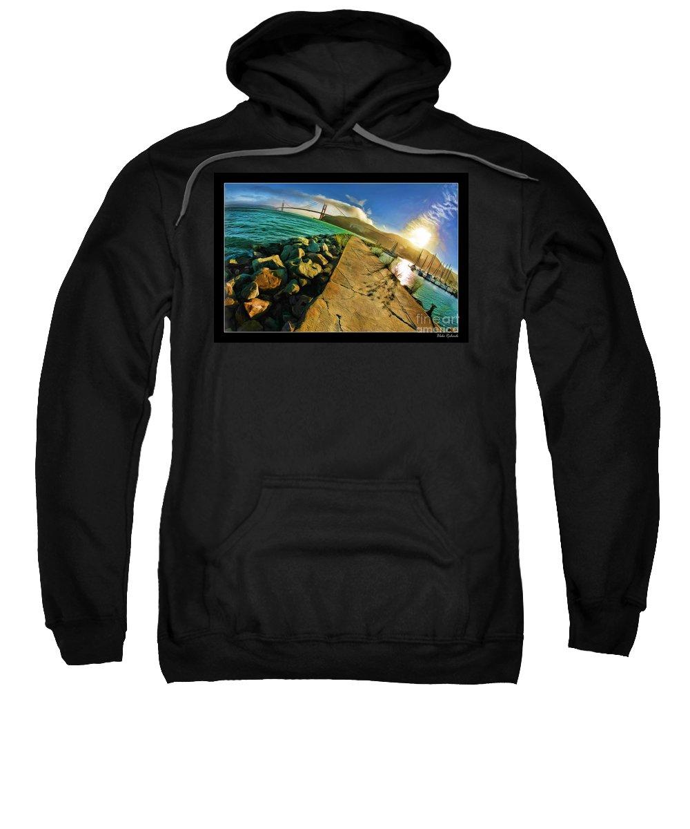 Golden Gate Bridge Sweatshirt featuring the photograph Path To The Golden Gate by Blake Richards