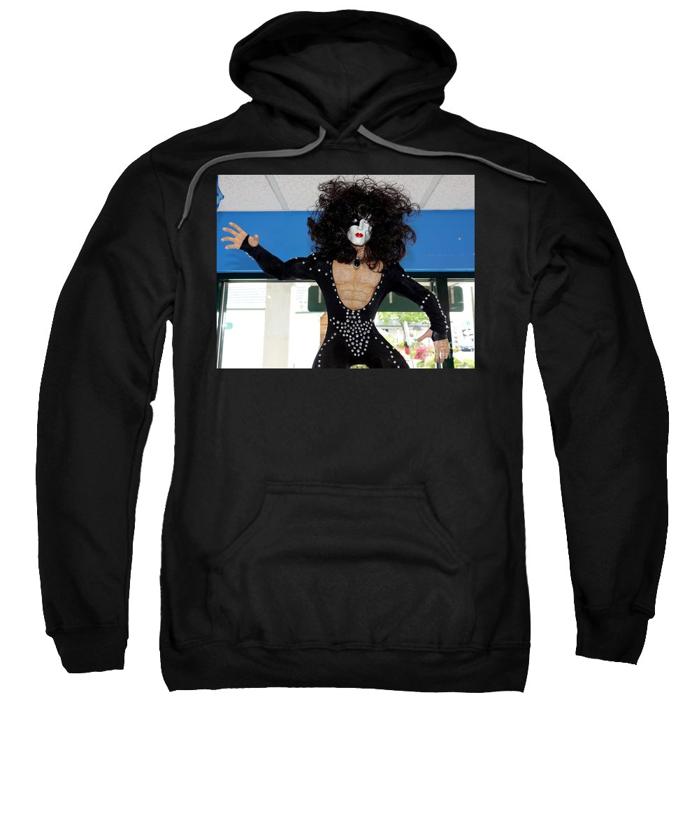 Mannequins Sweatshirt featuring the photograph Paul In Action by Ed Weidman