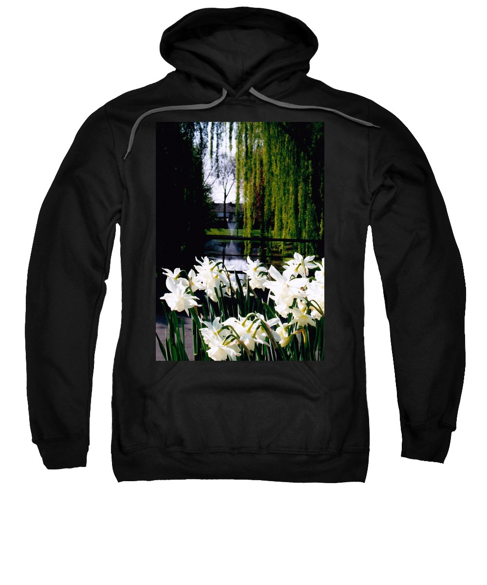 Canal Sweatshirt featuring the photograph Peaceful Canal by Glenn Aker
