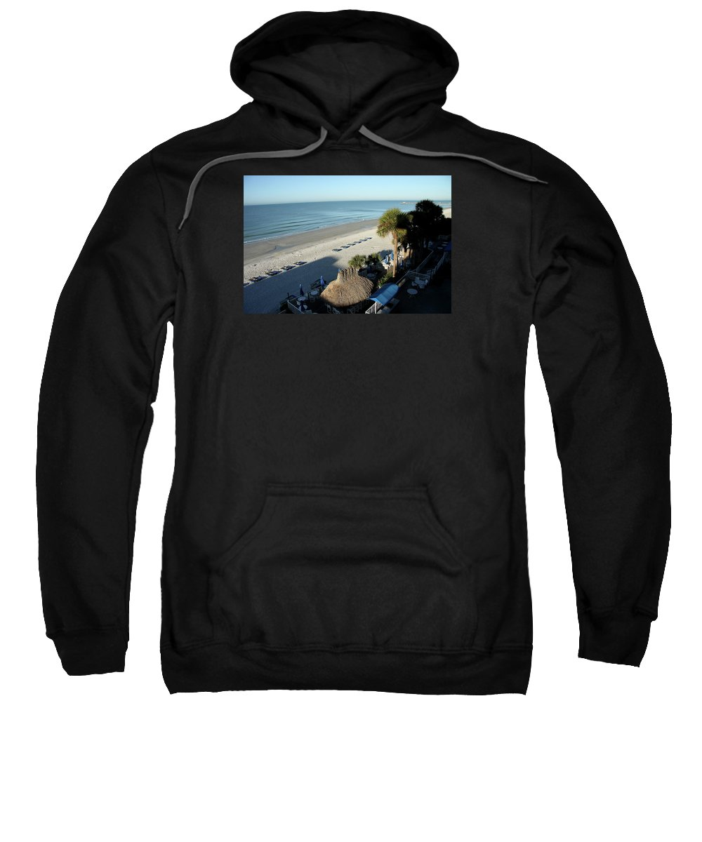 Beach Sweatshirt featuring the photograph Perfect Beach Day by Christiane Schulze Art And Photography