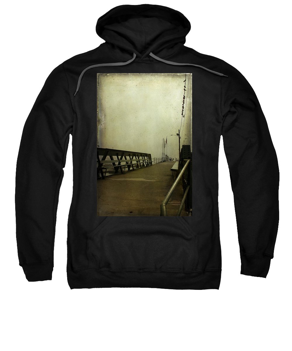 Pier Sweatshirt featuring the photograph Pier by Cindi Ressler
