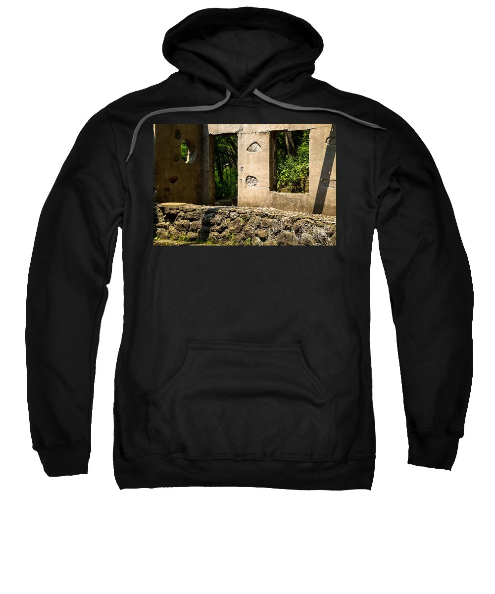 Stone Sweatshirt featuring the photograph Pietre by Nikki Vig