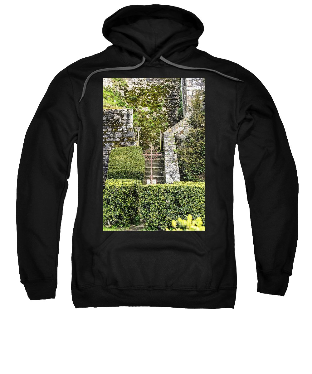 Travel Sweatshirt featuring the photograph Pilgrim's Steps by Elvis Vaughn