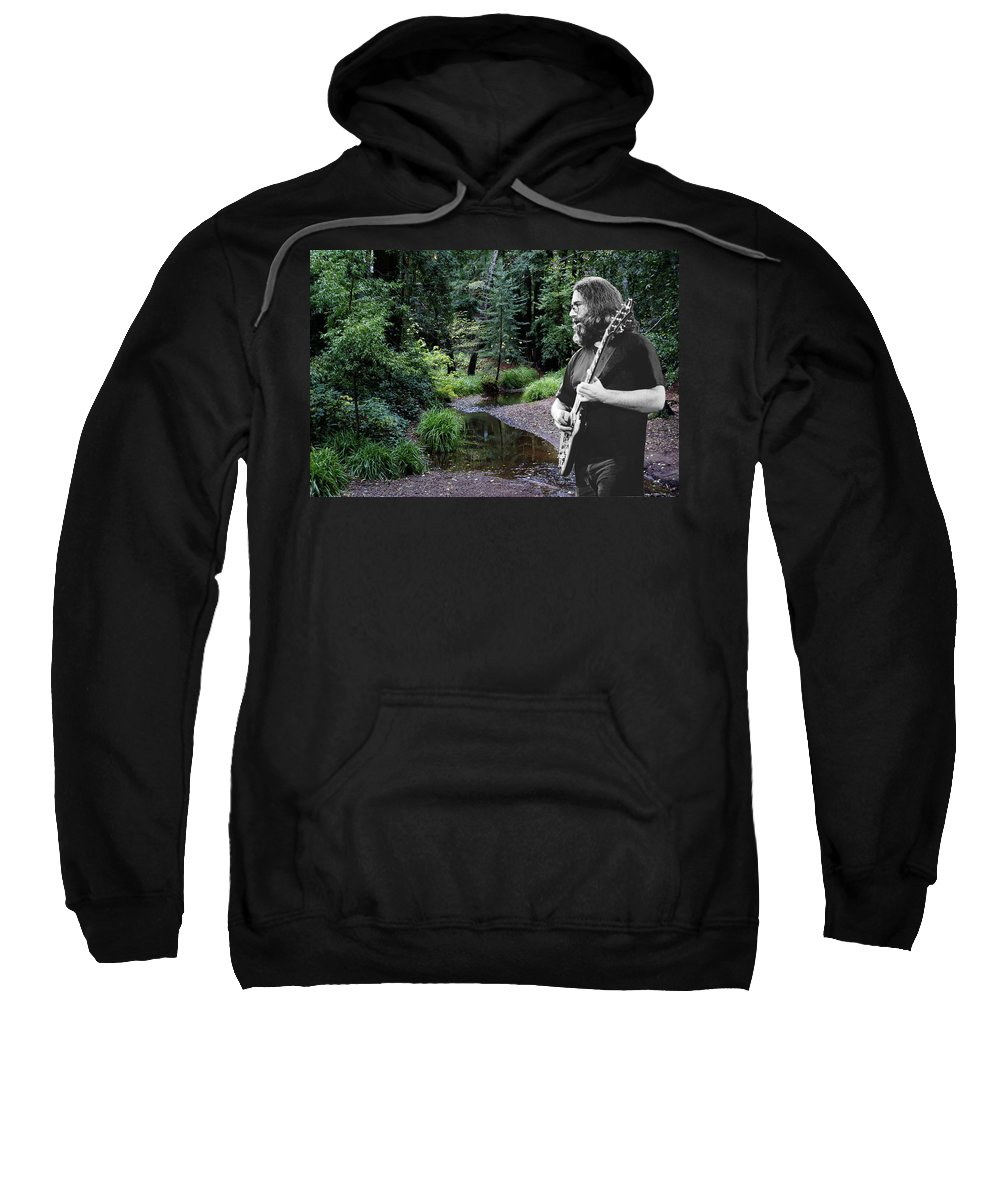 Grateful Dead Sweatshirt featuring the photograph Playing For The Creek by Ben Upham