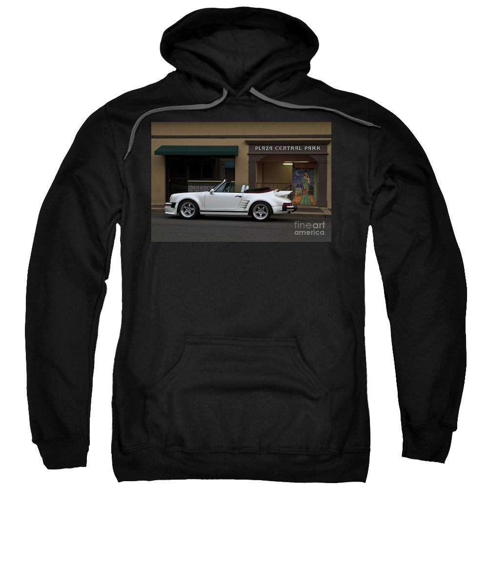 Porsche Sweatshirt featuring the photograph Plaza Central Park by Dennis Hedberg
