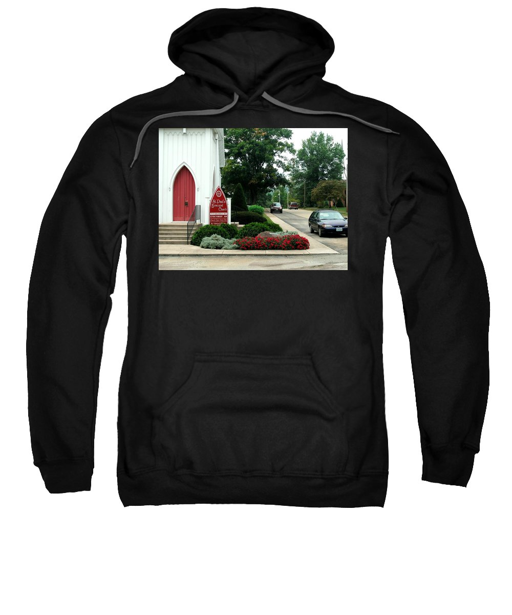 Points Of View Sweatshirt featuring the photograph Points Of View by Kip DeVore
