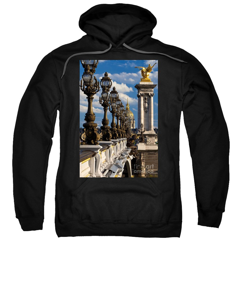 Pont Sweatshirt featuring the photograph Pont Alexandre IIi by Brian Jannsen