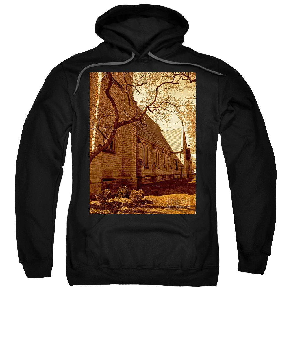 Church Sweatshirt featuring the photograph Praise by Desiree Paquette