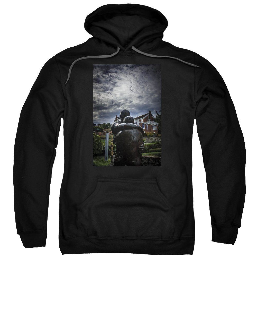 Prodigal Sweatshirt featuring the photograph Prodigal Under Clouds by Tim Childers