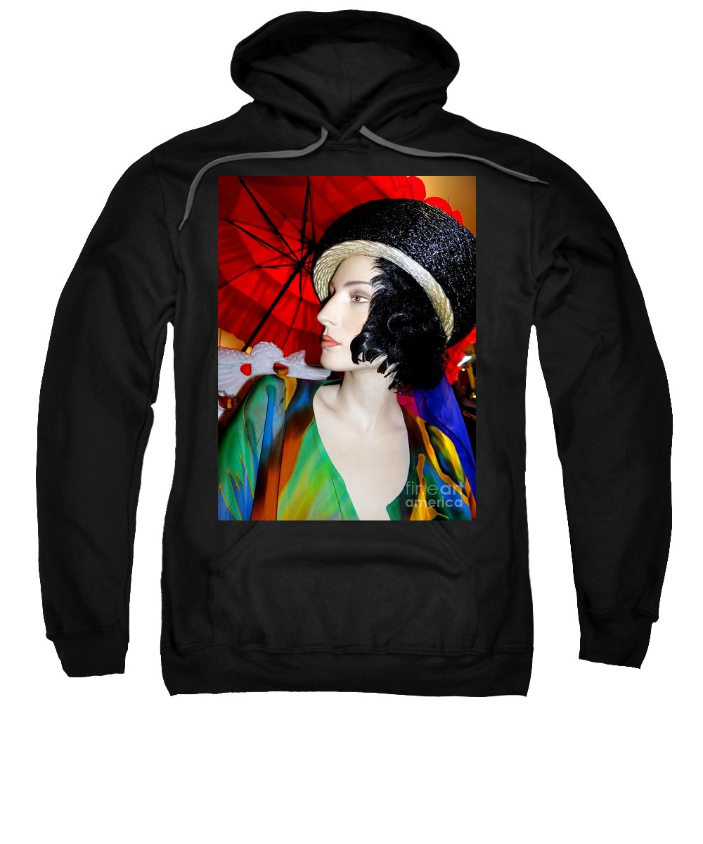 Mannequins Sweatshirt featuring the photograph Profile Of Penelope by Ed Weidman