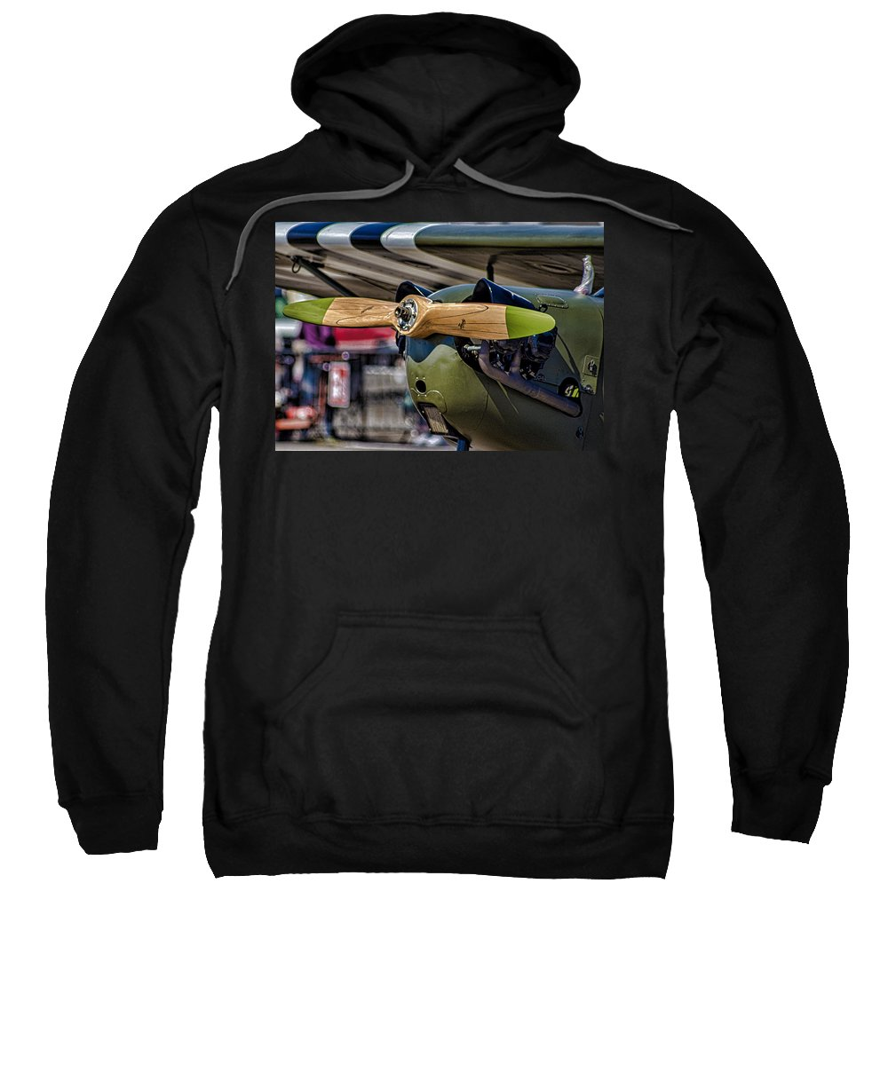 Propellor Sweatshirt featuring the photograph Propellor by Martin Newman