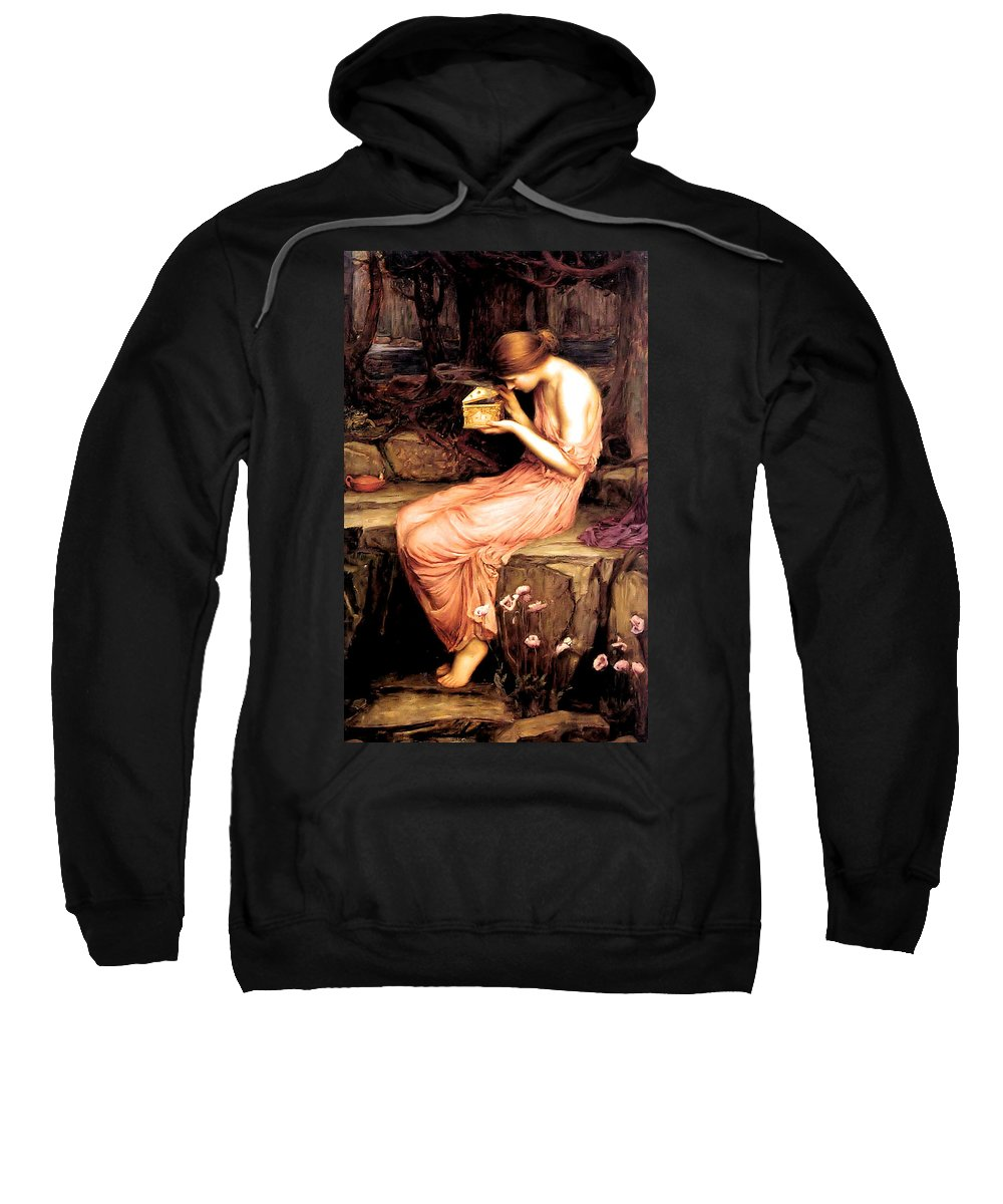 John Sweatshirt featuring the painting Psyche Opening The Golden Box 1903 by Philip Ralley
