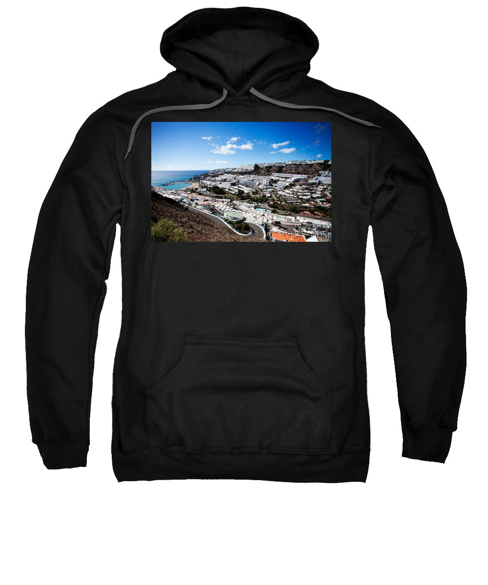 Landscape Sweatshirt featuring the photograph Puerto Rico Spain by Kati Finell