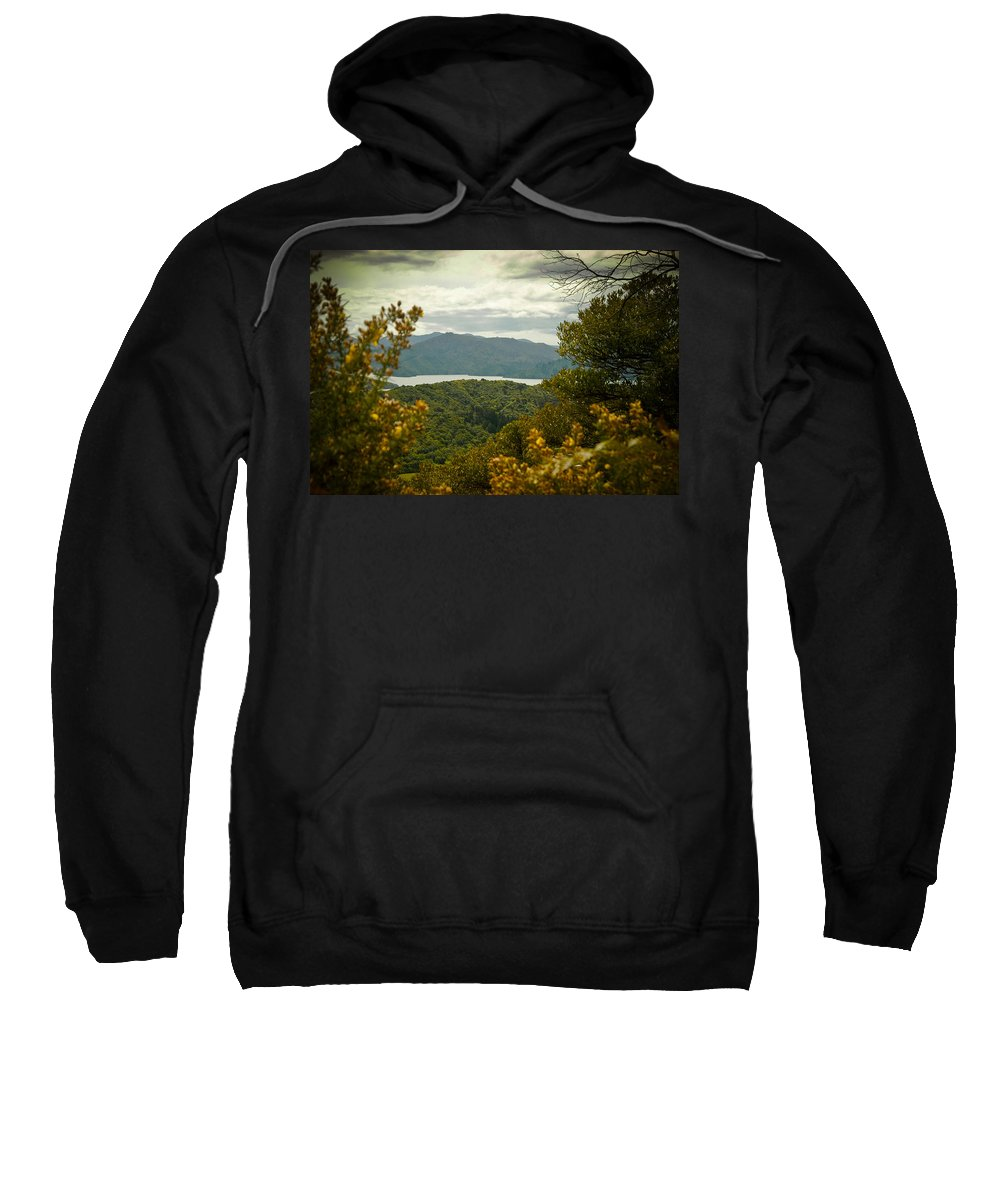 Canvas Sweatshirt featuring the photograph Queen Charlotte Sound by Mark Llewellyn