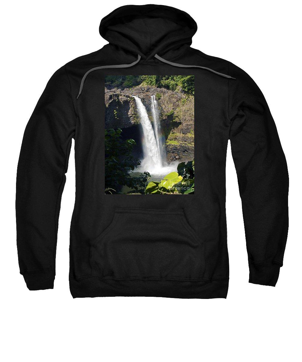 Fine Art Photography Sweatshirt featuring the photograph Rainbow Falls IIi by Patricia Griffin Brett