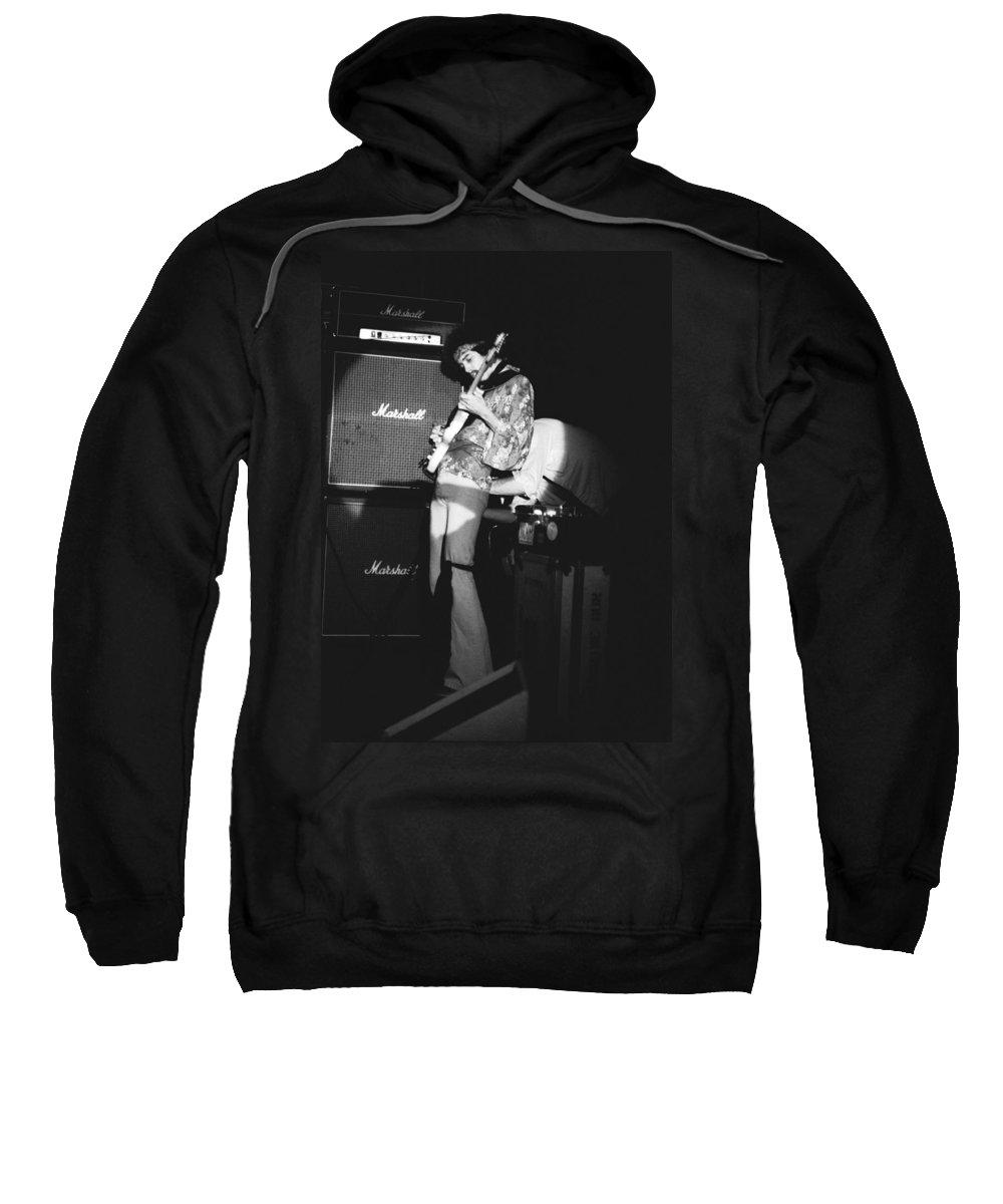 Randy Hansen Sweatshirt featuring the photograph Randy Hansen 1978 by Ben Upham